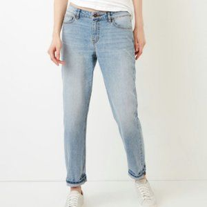 NWT Roots Aiden Boyfriend Jeans - Light Wash - 30